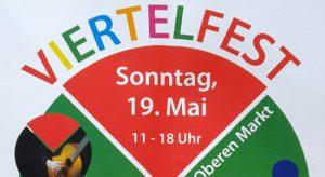 Viertelfest am 19. Mai auf dem Oberen Markt @ Neuer Markt | Neunkirchen | Saarland | Deutschland