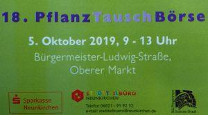 18. PflanzTauschBörse @ Oberer Markt