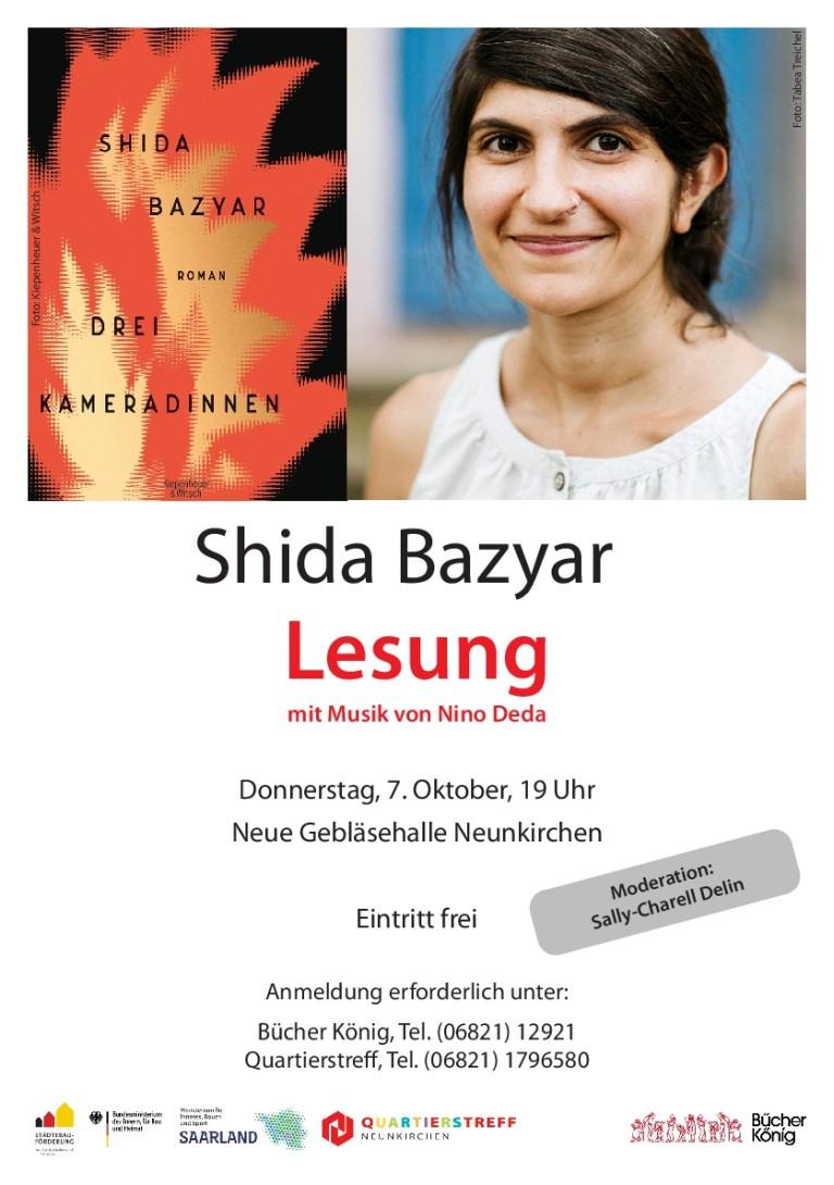 Shida Bazyar Lesung